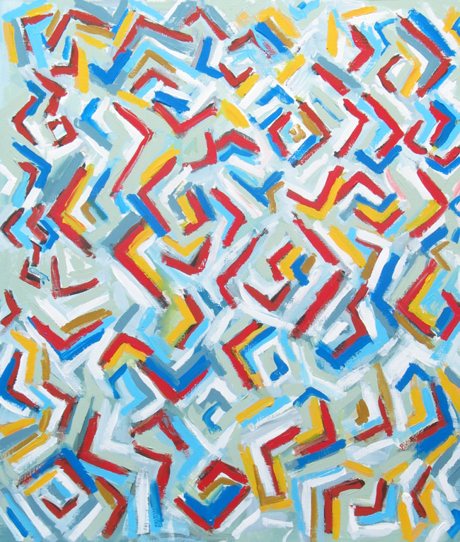 Elements Of Art Pattern : Quot the abstract flooding of letter l colorful