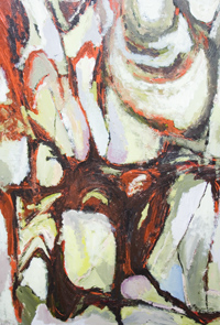 The Ultimate Passion of the artist : abstract expressionism, abstract motion, abstract movement, abstract allegory, linear narrative abstraction, allegorical abstraction, dynamic movement, acrylic painting #5577, 2006 | Kazuya Akimoto Art Museum