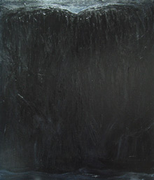 """The Black Bluff"": contemporary black painting"